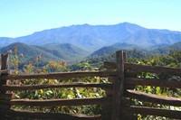 Smoky Mountain views from the By-Pass in Gatlinburg