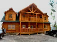 Family Reunion cabin rentals in Pigeon Forge and Gatlinburg Tennessee.
