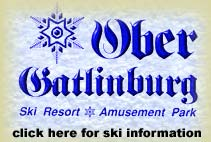 Ober Gatlinburg Ski Resort in Gatlinburg Tennessee.